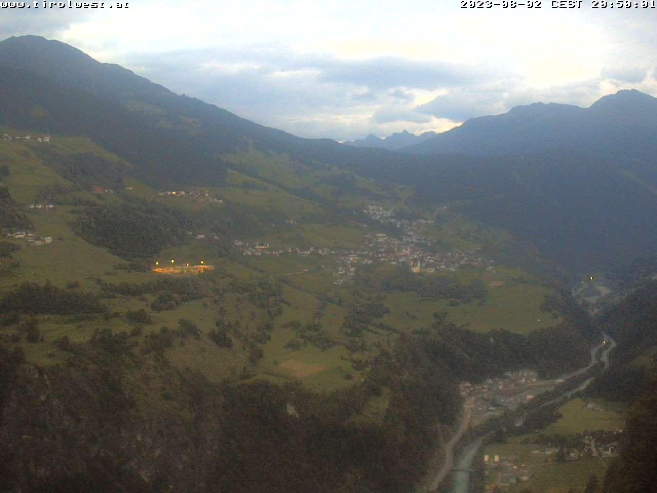 Webcam Hochgallmigg Richtung Fließ (c) TVB Tirol West/Gasthof Alpenrose