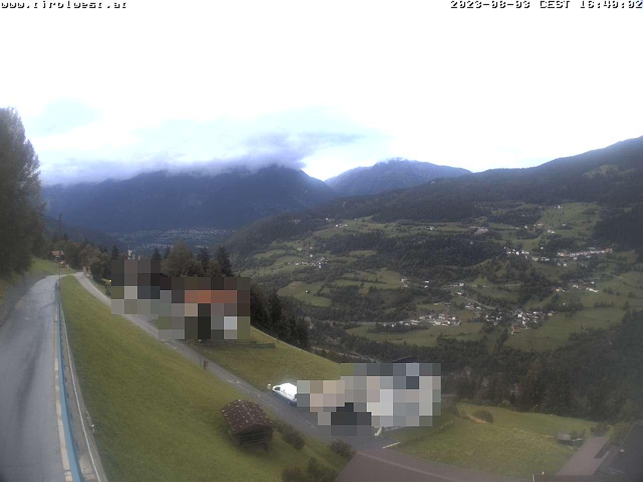 Webcam Hochgallmigg Richtung Landeck (c) TVB Tirol West / Gasthof Alpenrose